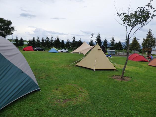 北海道ソロキャンプの旅その11 上富良野日の出公園オートキャンプ場