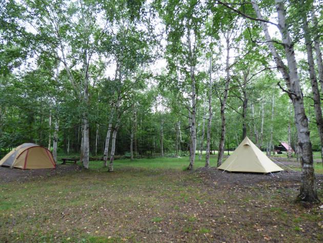 糠平湖キャンプ場