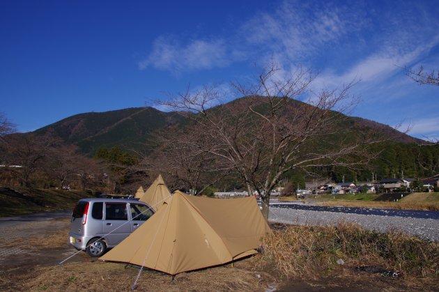 粕川オートキャンプ場 今年のラストキャンプ