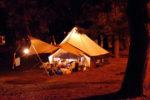 経ヶ丸オートキャンプ場 ミッション「薪に火をつけろ!」