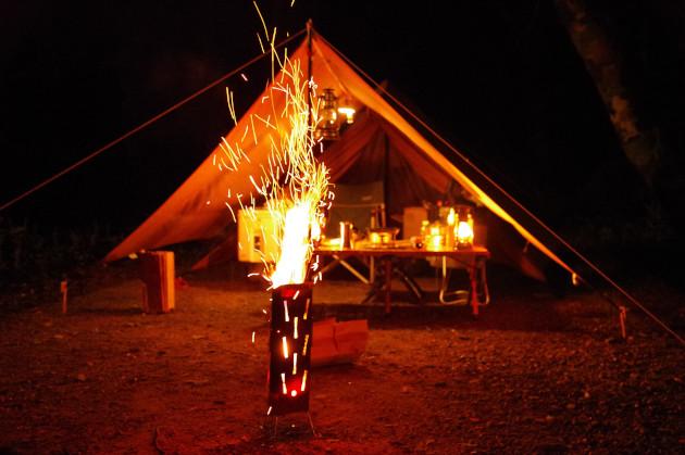 UFファイアポットで火遊びした夏の夜の夢