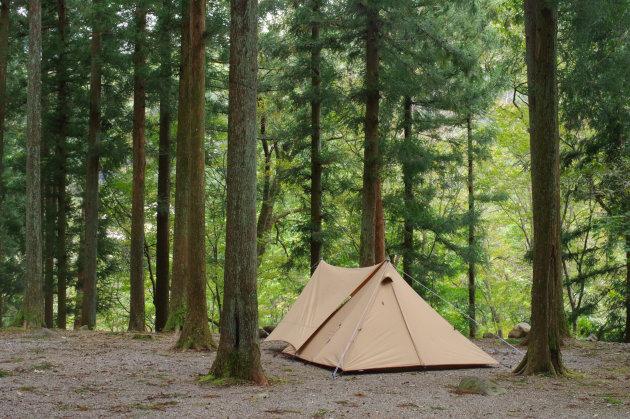めいほうキャンプ場ソロキャンプサイト