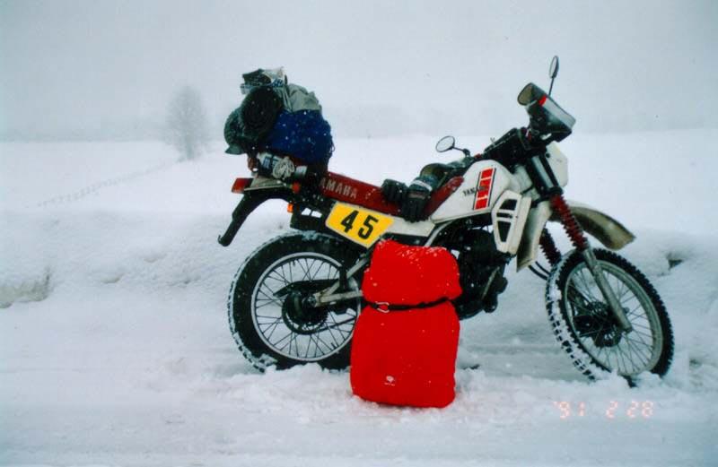 厳寒の北海道ツーリング その1