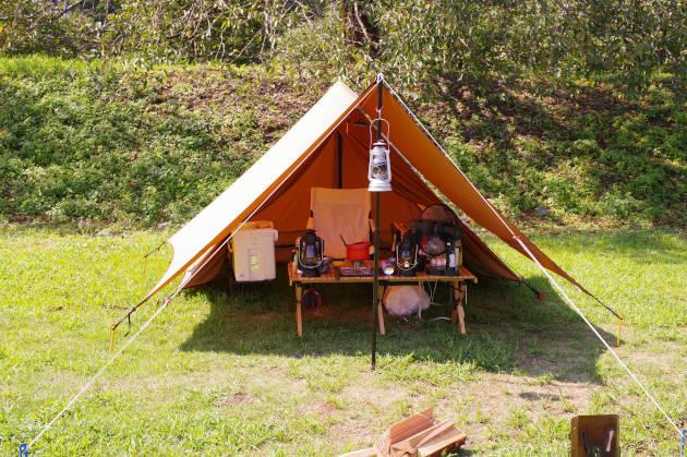 UFチェア100でキャンプ