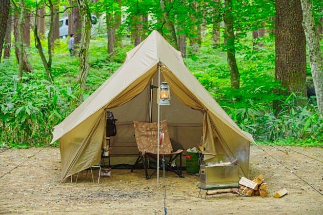 ひるがの高原キャンプ場の紹介