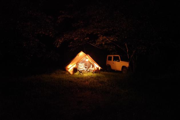 テント設営完了01