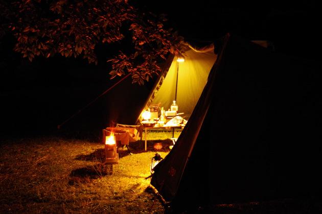 ソロソウルウォウウォウのソロキャンプとデュオキャンプ使用時広さ