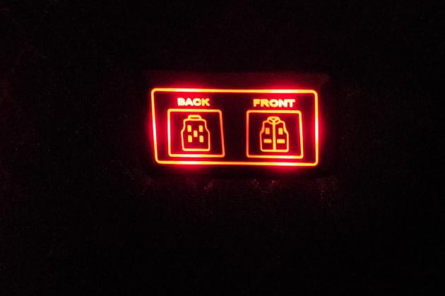 電熱ベストのスイッチ
