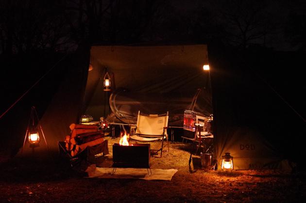 2021年初ソロキャンプは秘密の野営地で完ソロ 前編