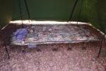 安い中華製の羽毛寝袋でも冬キャンプで十分使えた