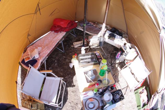 サーカスTCでデュオキャンプ