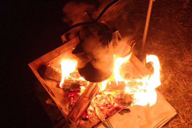 焚き火スタンド2