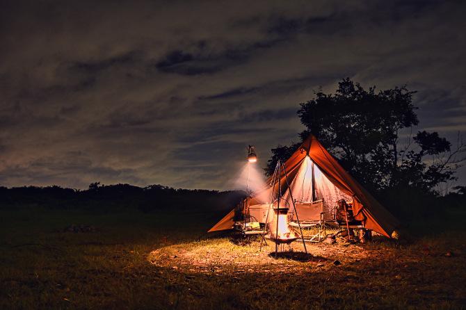 久しぶりにパンダTCでソロキャンプ