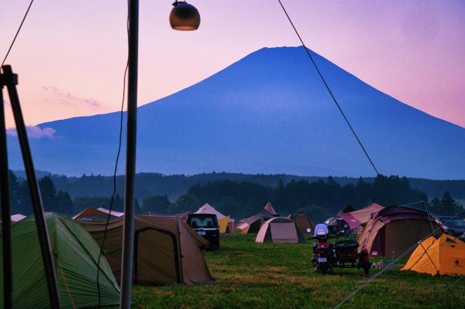 ふもとっぱらで富士山の絶景を眺めたい夫婦の夏キャンプ 第四話