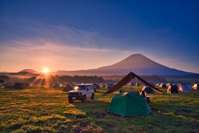 ふもとっぱらで富士山の絶景を眺めたい夫婦の夏キャンプ 第二話