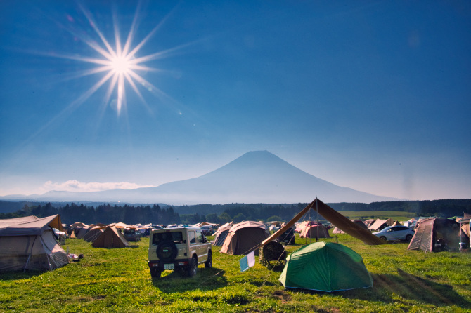 ふもとっぱらで富士山の絶景を眺めたい夫婦の夏キャンプ 第三話