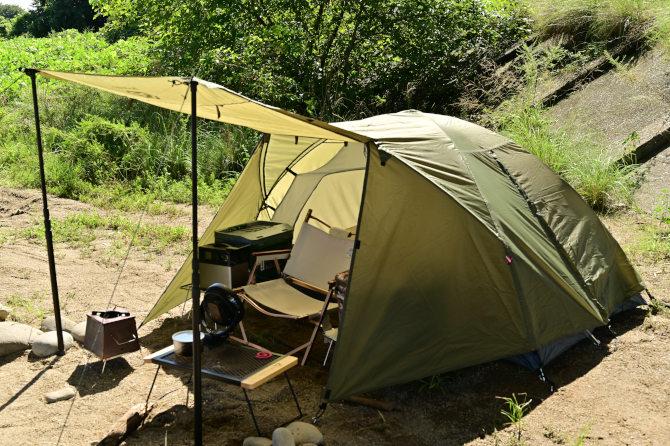 コスパの良いソロキャンプ用テントGOGlampingのツーリングドーム