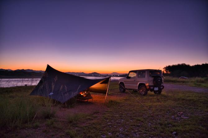 夏の終わりのソロキャンプ 素敵な世界の入り口
